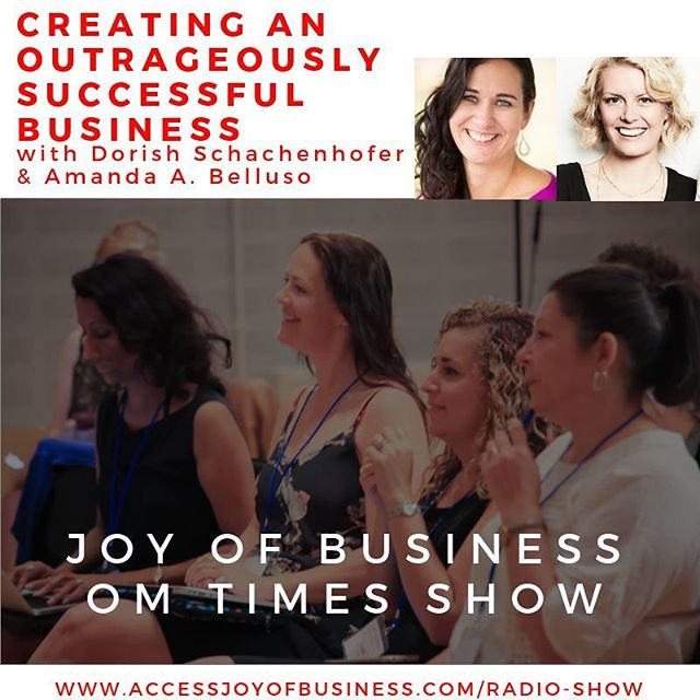 Listen in to me and my friend Doris chatting about what it means to be outrageous and how we both have changed our businesses and lives from average to successful and happy.  We're live on the Joy Of Business Radio Show today (March 4th) at 4pm ET, link in bio. . . . #businessdonedifferent #outrageous #dontquityourdaydream #impossibleisnothing #getyourhappyon