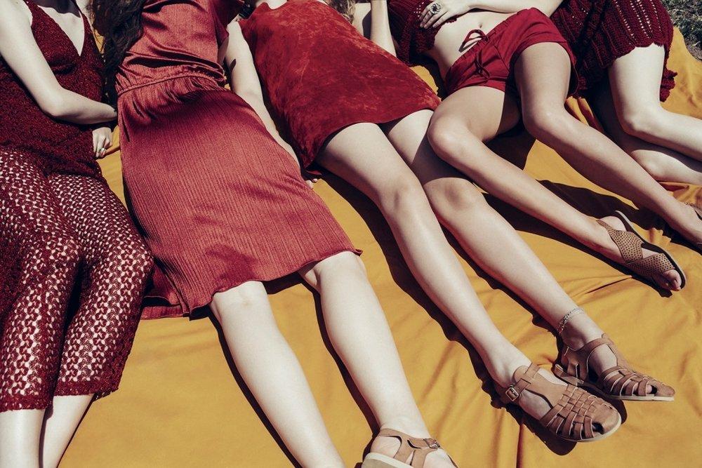 ines, kim, ella, eranne & caitlin_south africa, 2015