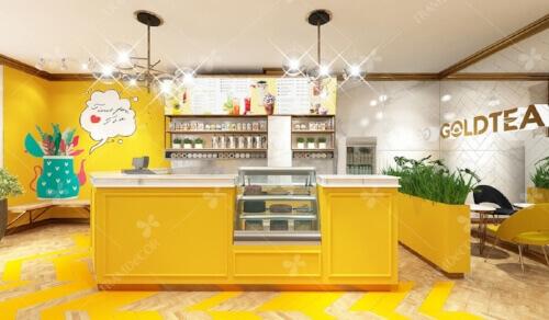 Trà Sữa Gold Tea 2 - Thời Gian: 07/2018Địa Điểm: Vinhome, Vĩnh Long, Việt NamDiện Tích: 180m2