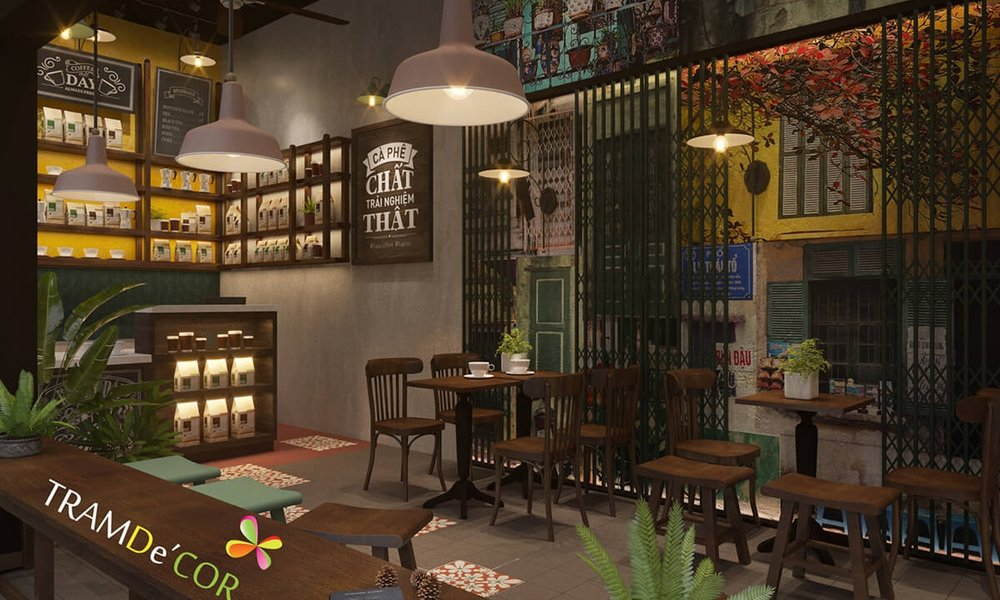 THIẾT KẾ nội thất Cafe TẠI HÀ NỘI -