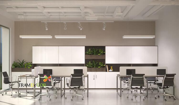 Hiện đại với thiết kế nội thất văn phòng An Việt Phát