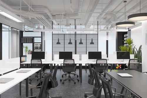 Chuyên nghiệp với thiết kế văn phòng mang phong cách công nghiệp