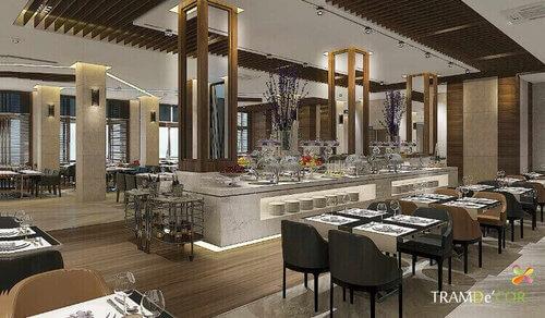 Nhà hàng sang trọng hơn với không gian nội thất