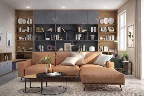 Thiết kế nội thất căn hộ tiện nghi