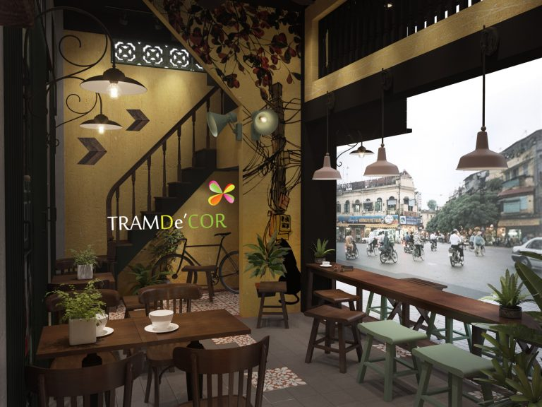 Với cách trang trí quán café khá cầu kì, chỉn chu từ các đồ nội thất không thể thiếu trong mỗi quán café đến những chi tiết trang trí nhỏ nhấn nhá cho phong cách vintage ấn tượng này.