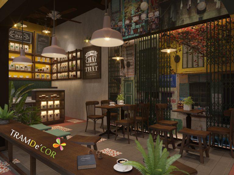 Han coffe mang đến ý tưởng thiết kế cafe đẹp cho bất cứ ai