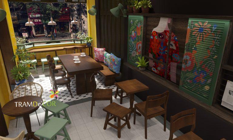 Các chi tiết, màu sắc càng làm nổi bật và dem đến sự thích thú với khách hàng khi được thưởng thức trong những không gian có thiết kế cafe phong cách vintage