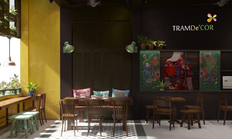 Thiết kế cafe cổ xưa từ HAN với gam mầu trầm màu trầm được  Tramdecor  chọn để là màu chủ đạo, rất được yêu thích bởi những bạn muốn tìm 1 nơi trầm tĩnh, để thư giãn sau 1 ngày, 1 tuần làm việc áp lực căng thẳng.