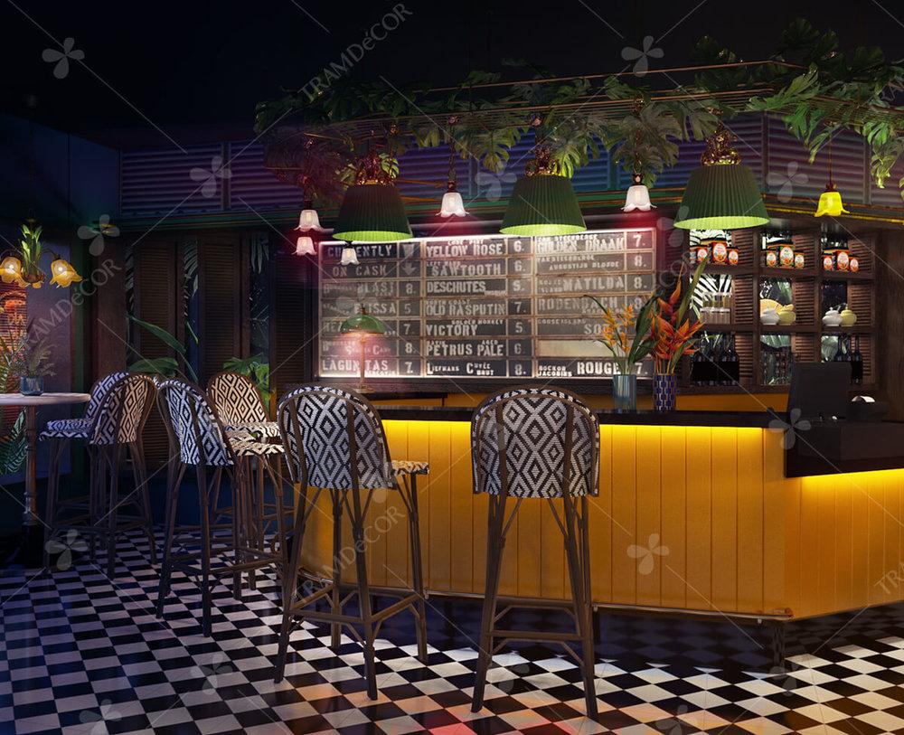 Nhà hàng Jungle Bistro tại HCM