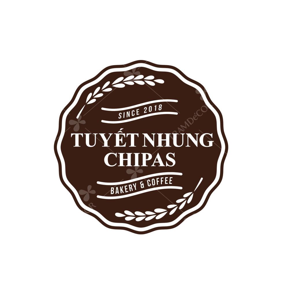 Logo bánh kem Tuyết Nhung