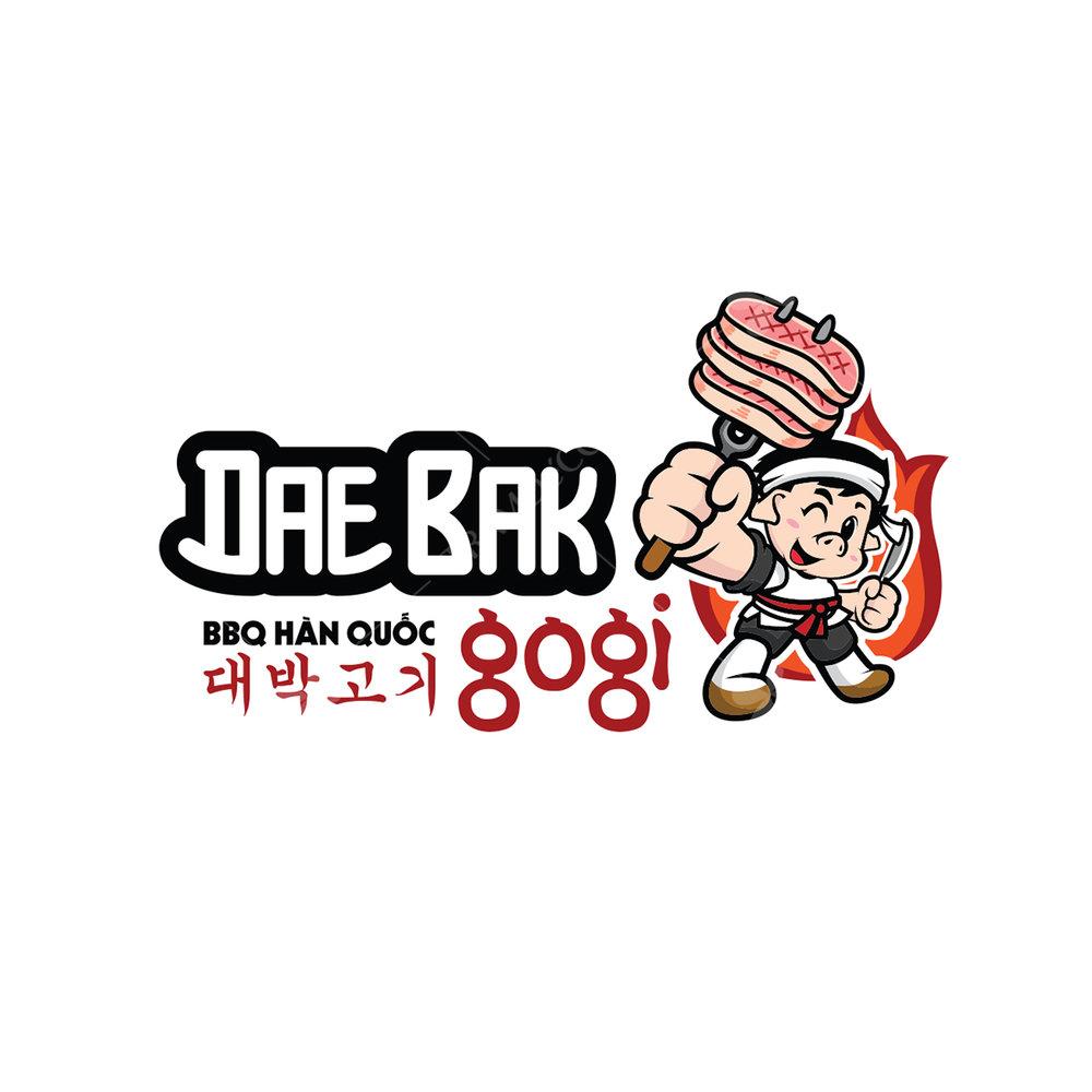 Logo nhà hàng Daebak Gogi