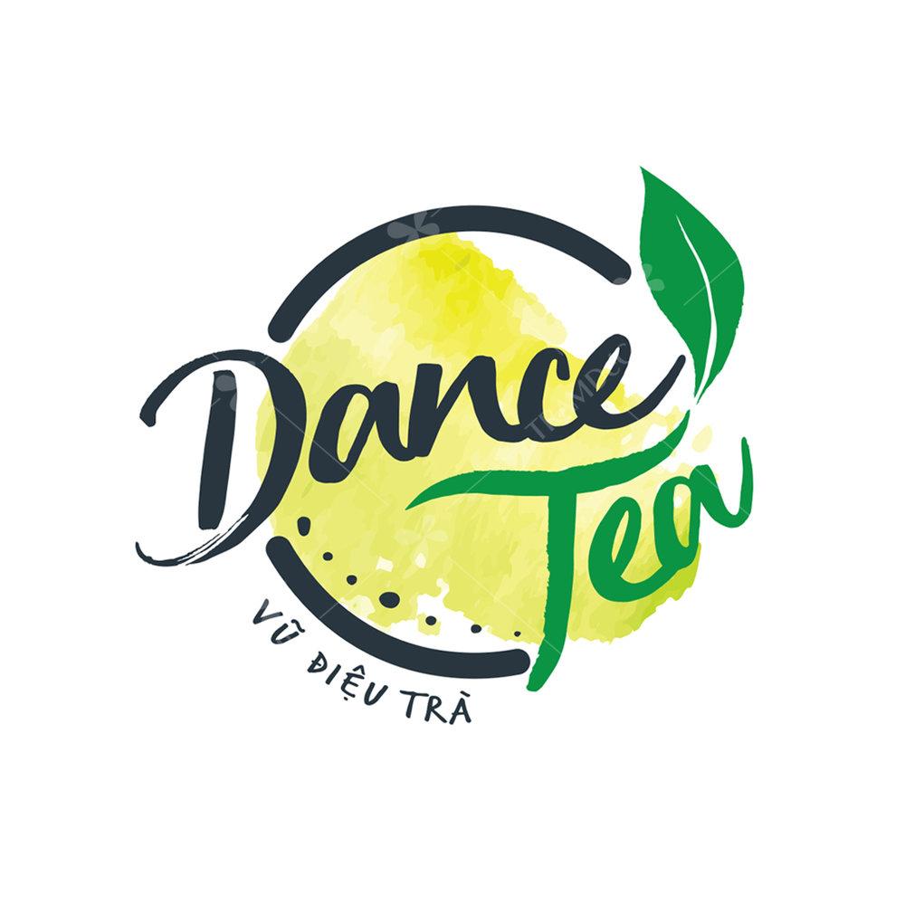 Logo trà sữa Dance Tea