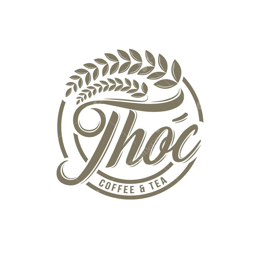 Logo quán cafe Thóc