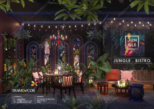Nội thất Jungle Bistro