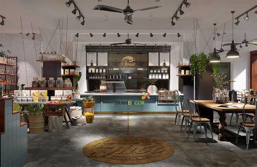 Nội thất Thóc Cafe