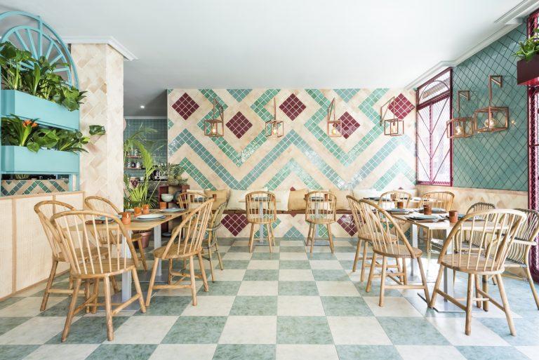 Thiết kế nhà hàng phong cách Địa Trung Hải