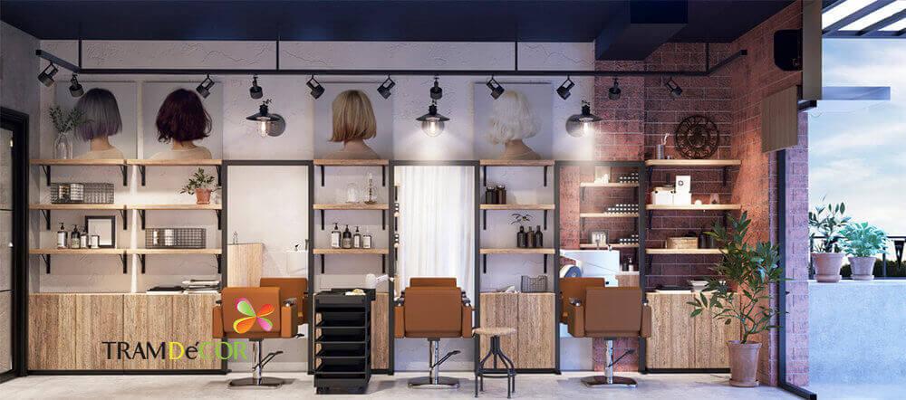 Thiết kế trang trí Salon