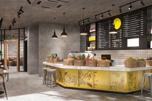 Anhi Cafe phong cách công nghiệp