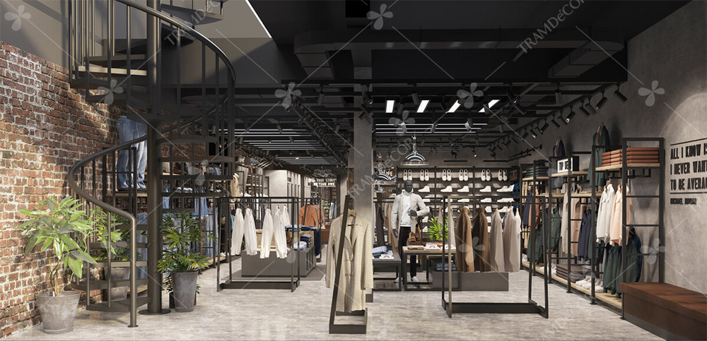 Shop thời trang nam Routine HCM