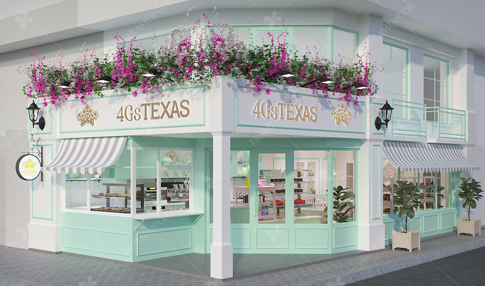 Cửa hàng 4GS Texas Bakery
