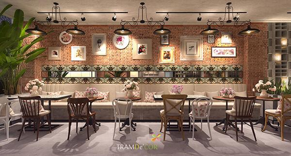 THIẾT KẾ nội thất Cafe PHONG CÁCH CHÂU ÂU - Phong cách châu Âu hiện đại sẽ mang tới không gian lãng mạn. Sự lãng mạn là hơi thở của văn minh châu Âu, là tinh thần của người châu Âu. Nó là sự thanh thoát, mềm mại, hòa quyện trong sự lựa chọn phong cách thiết kế nội thất. Tất cả sự khéo léo về màu sắc và họa tiết sẽ làm quán cafe của bạn trở nên nổi bật hơn bao giờ hết