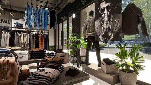 Shop thời trang nam Routine