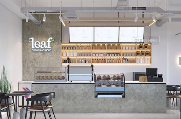 LEAF & DRINK CAFE
