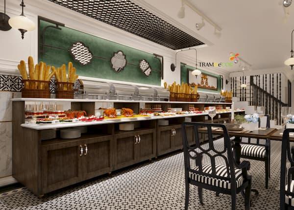 thiết kế nhà hàng món việt - Thiết kế nhà hàng đẹp đúng xu hướng sẽ góp phần tạo thương hiệu và thành công cho chủ đầu tư. Có khá nhiều xu hướng được ưa chuộng như nhà hàng Nhật, nhà hàng nướng Hàn Quốc, nhà hàng món ăn Trung Quốc,.…nhưng có thể thấy nhà hàng món ăn Việt bao giờ cũng có chổ đứng tốt nhất trên thị trường Việt Nam