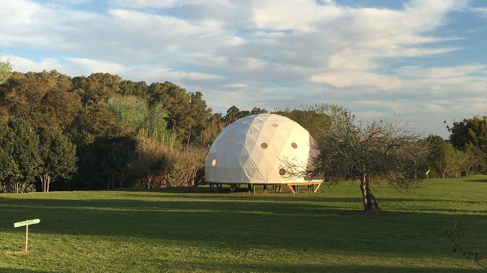 Geodesic Healing Dome
