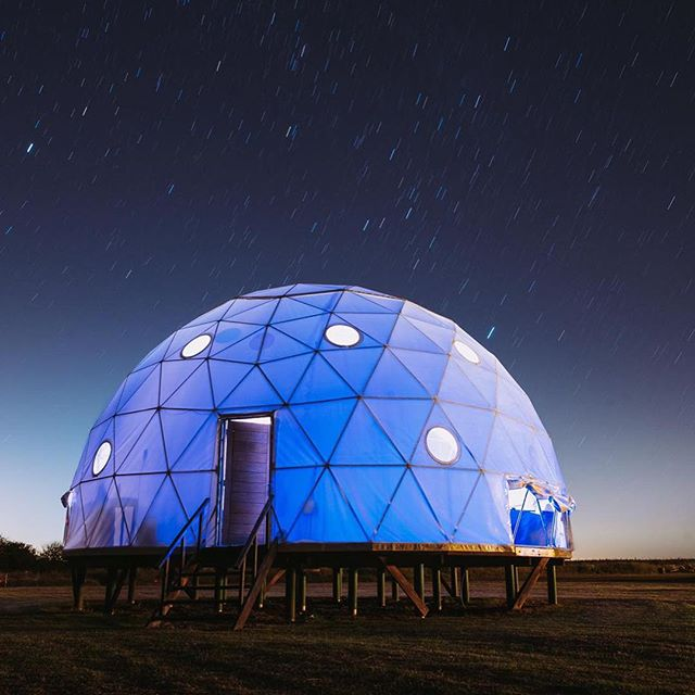 Our magical #dome can be used night & day 💖 🧘🏻♂️🙏🏼🧘♀️ Thanks @mboffano for the spectacular pics! Thank you for choosing us for your #retreat #workshop #event