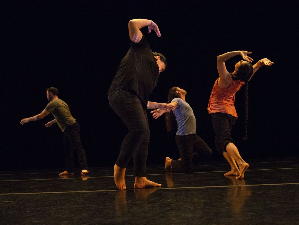 "Rosy Simas Danse will perform ""Weave"" at the Ordway in St. Paul on Saturday. ""Weave"" is inspired by the interdependent nature of our world.  Courtesy of Douglas Beasley"