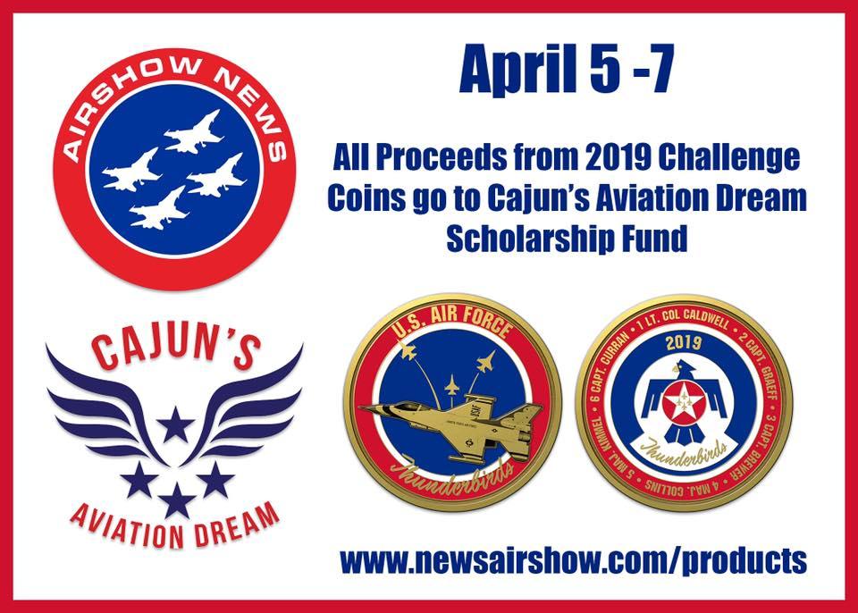 Challenge Coin Fundraiser — Blog — Cajun's Aviation Dream Inc