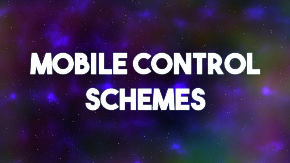 Star Escape Dev Blog - Mobile Control Scheme Banner