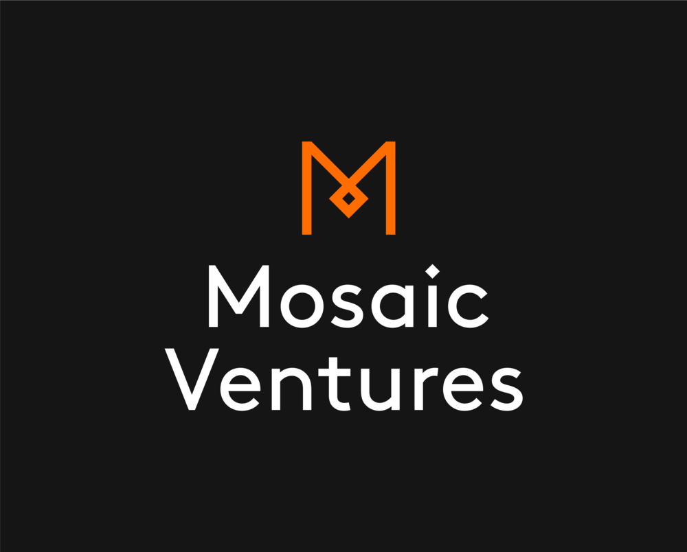 Mosaic Ventures / Logo / Dark. Download:  PNG