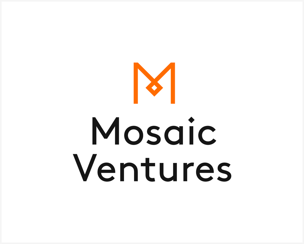Mosaic Ventures / Logo / Light. Download:  PNG
