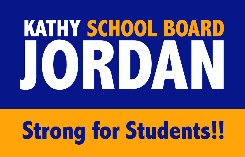 Kathy Jordan for School Board 2018
