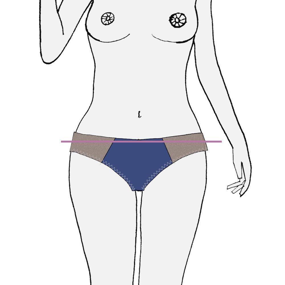 mesurez votre tour de bassin