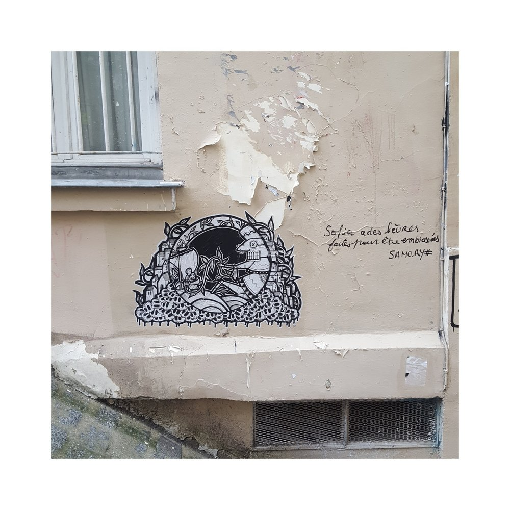 passage des abesses paris streetart