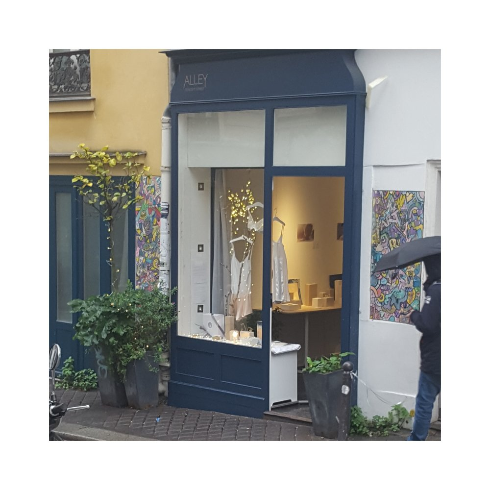 boutique Coryphée montmartre Paris