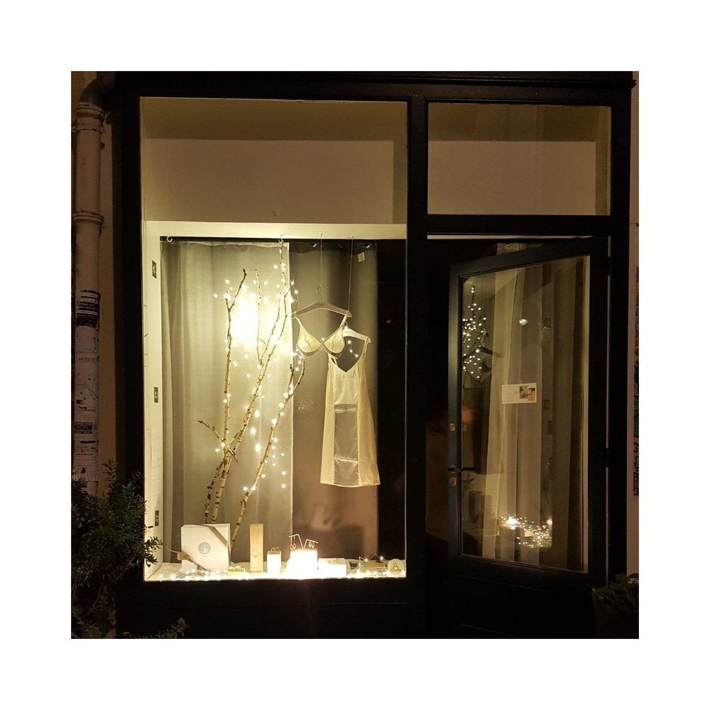 popup store Coryphée lingerie