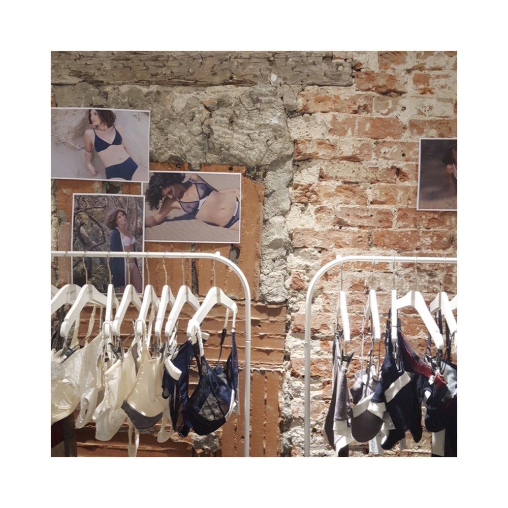 collection coryphée lingerie soutien-gorge bio et culotte bio
