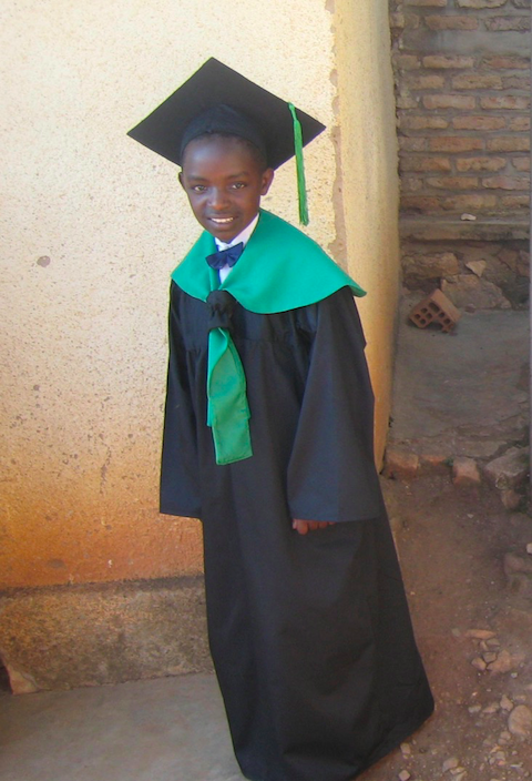 Happy Face of a special girl. She has been #1 in her class since Kindergarten. Congratulations Delice Nishimwe.