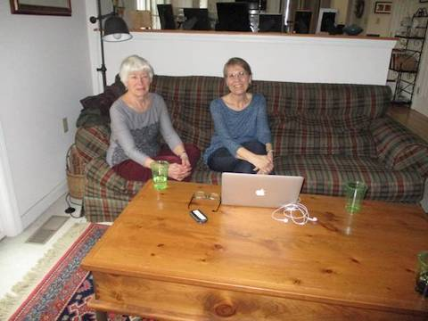 Joan Zimmer and Janet Madore in State College