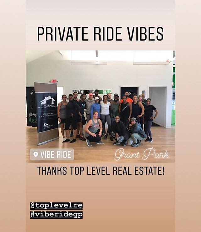 """Thank you to all who came out to today's Rhythm Ride """"Ridin On Them Things Like Everyday"""". I hope you had as much fun as we did. #spinning #atlantarealestate #kw #healthy2019 #getfit #stayfit #welcometoatlanta"""