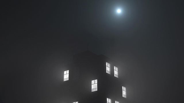 Foggy City Night