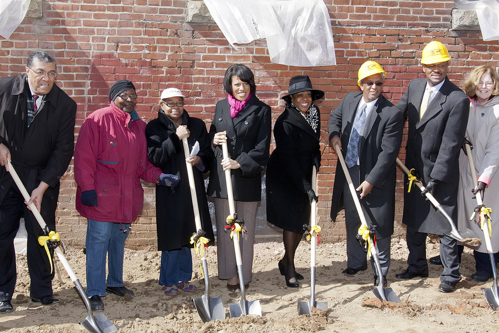 Columbus School Ground Breaking Ceremony