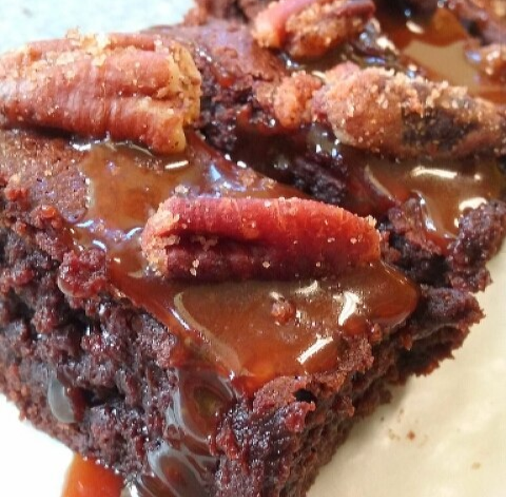 CLICK HERE   to order our Whiskey Bourbon Caramel Fudge Brownies