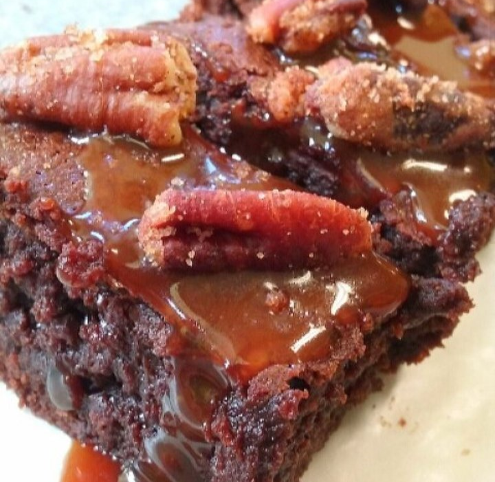 CLICK HERE   to place your order for our Whisky Caramel Pecan Fudge Brownies.