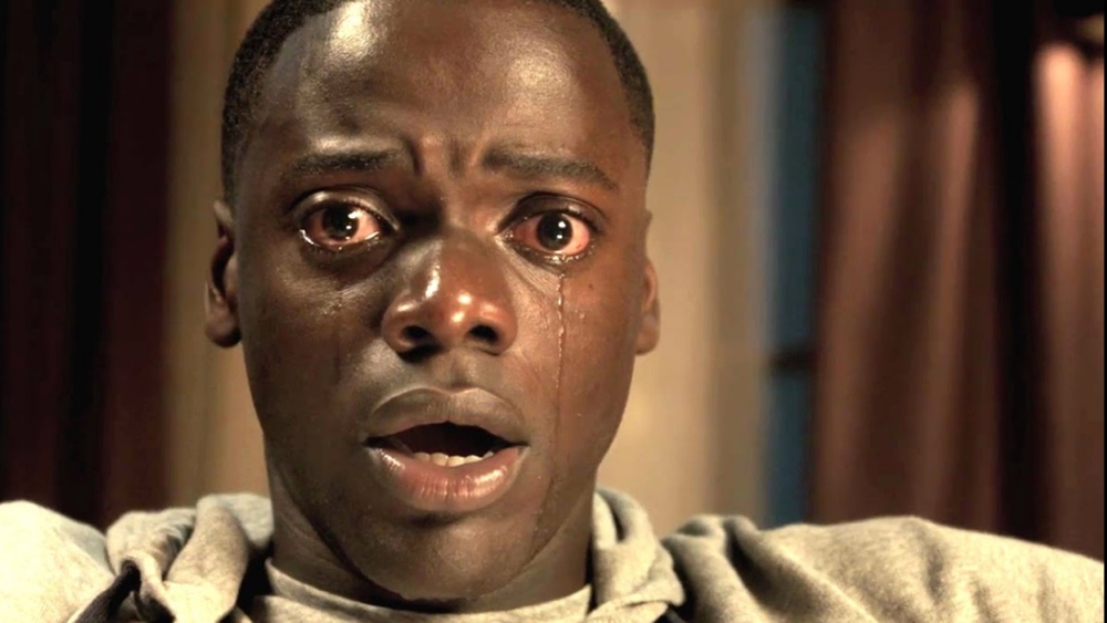 Get Out - 2017, Jordan PeeleNow that Chris (Daniel Kaluuya) and his girlfriend, Rose (Allison Williams), have reached the meet-the-parents milestone of dating, she invites him for a weekend getaway upstate with Missy and Dean. At first, Chris reads the family's overly accommodating behavior as nervous attempts to deal with their daughter's interracial relationship, but as the weekend progresses, a series of increasingly disturbing discoveries lead him to a truth that he never could have imagined.