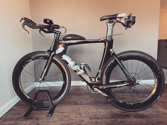 And another. Who needs rear brakes? #irideenve #enve #enveracing #triathlon #cycling